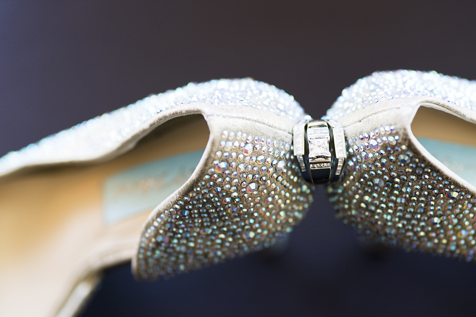Berkeley Park Wedding Pictures - ring and shoes