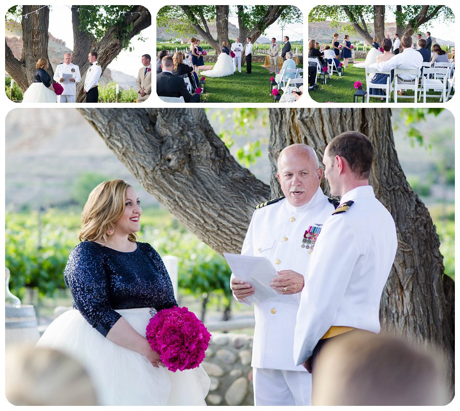 Wedding Ceremony - Canyon Wind Cellars
