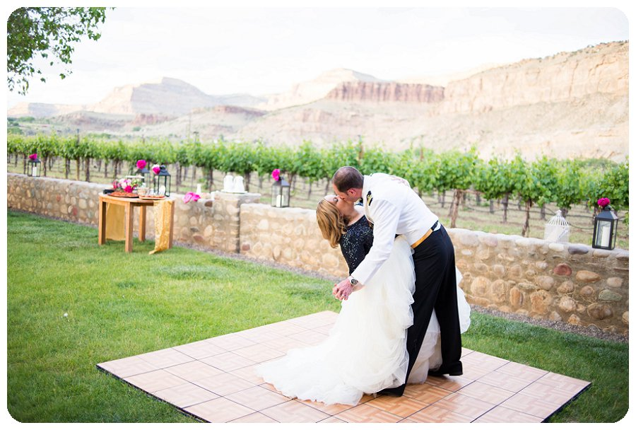 First Dance at Canyon Wind Cellars