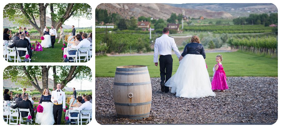 Canyon Wind Cellars Wedding Photography Ceremony