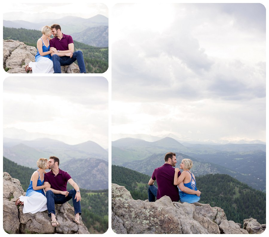 Boulder Engagement Photographer - Ashley and Kevin