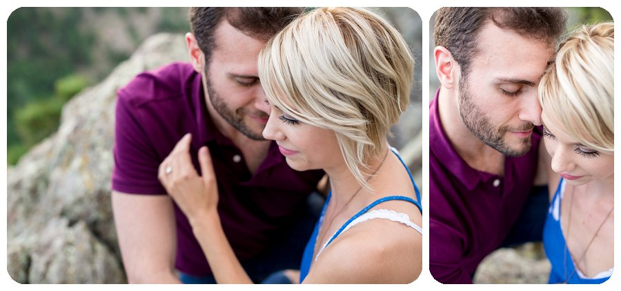Boulder Engagement Photography Session at Lost Gulch overlook - Ashley and Kevin