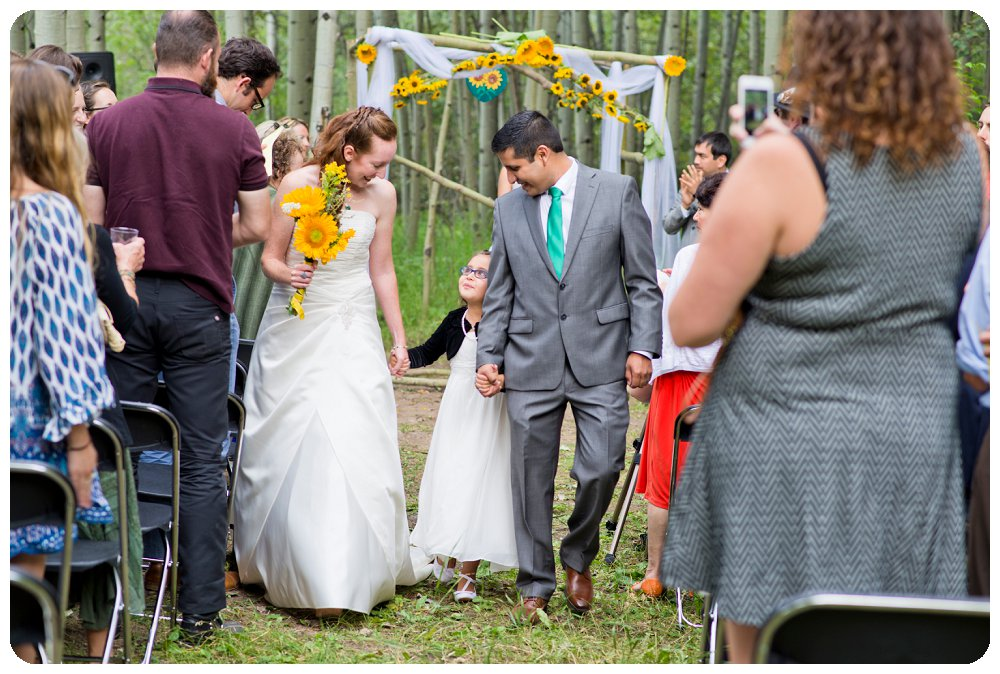 Golden Gate Canyon State Park Wedding Ceremony