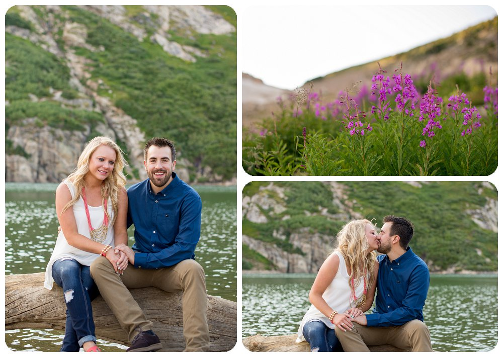 St Marys Glacier Engagement Session - Janelle and Nick