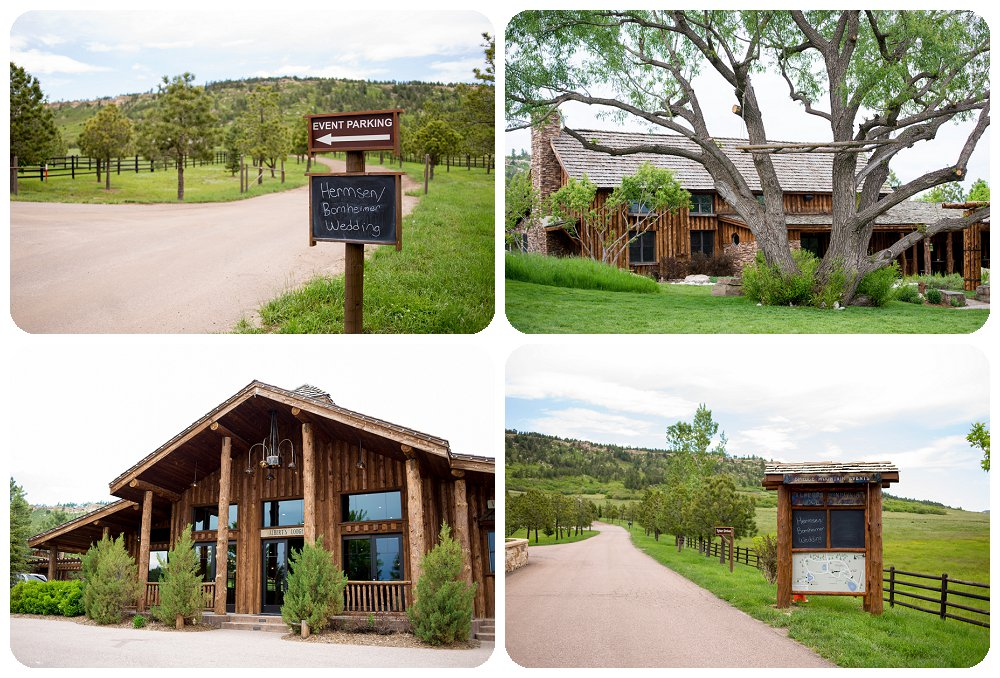 Spruce Mountain Guest Ranch Wedding Signs