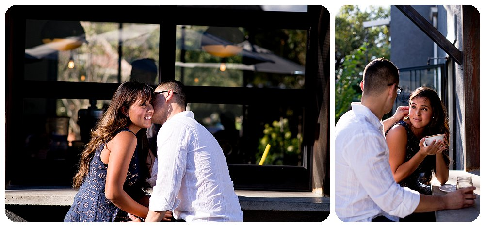 Denver Engagement Photographer, Rayna Mcginnis, photograph of Engagement session at steam