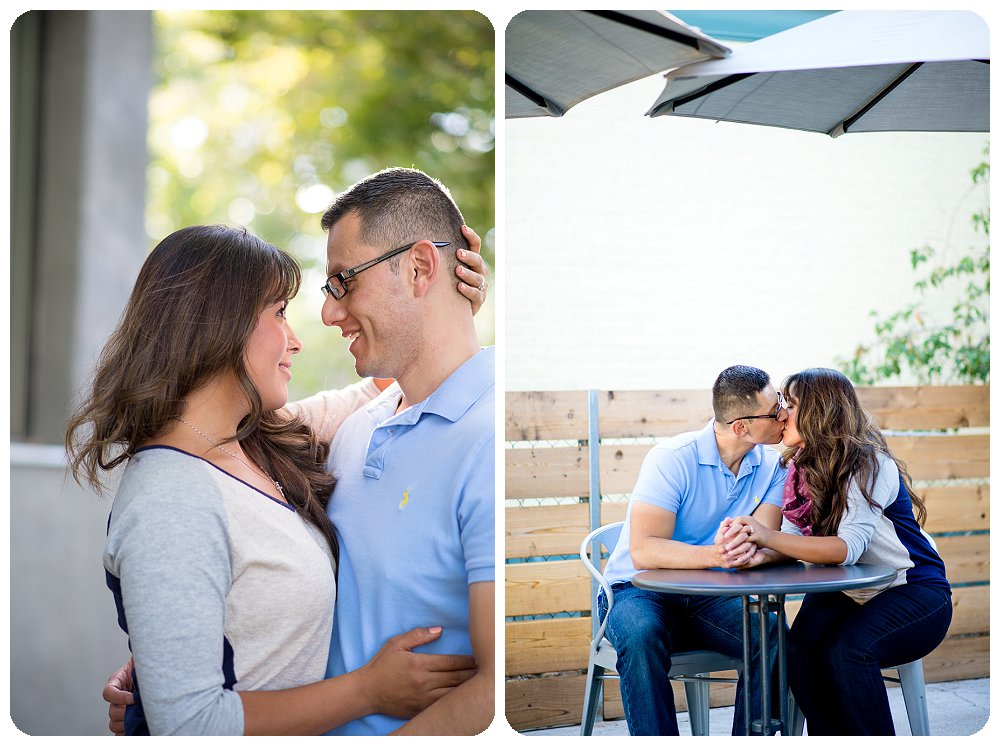 Denver Engagement at Steam Espresso Bar on South Pearl St by Rayna McGinnis
