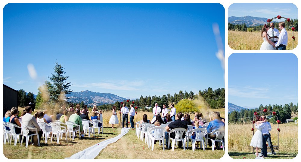 Grandview Terrace Wedding Pictures on a beautiful Colorado day!