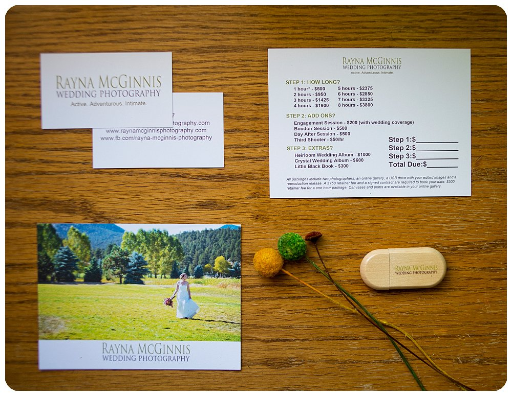 New Branding Materials and a USB Drive from USB Memory Direct