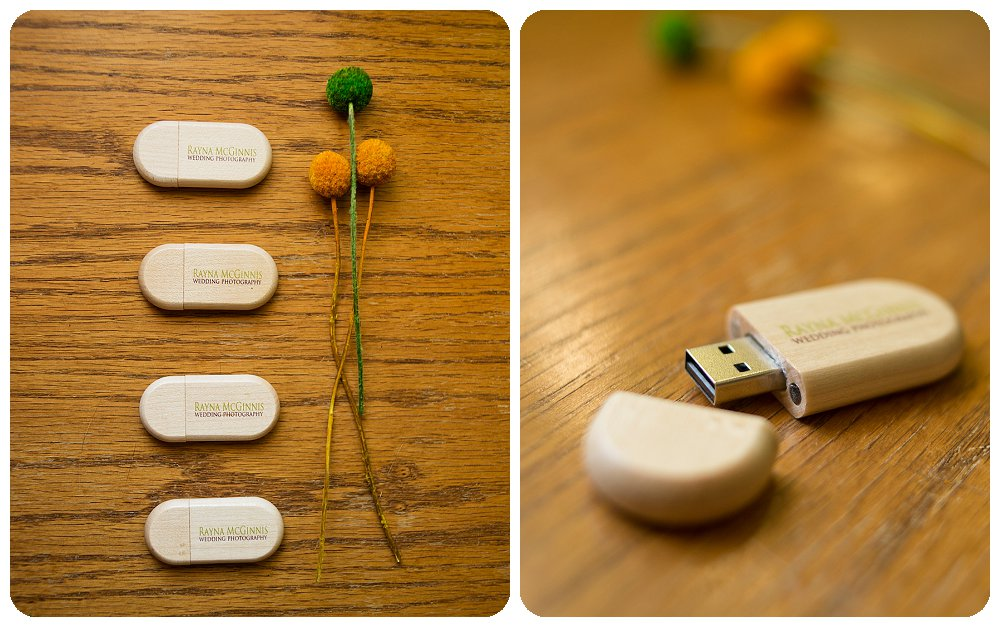 Magnetic closure on wooden USB drives from USB Memory Direct