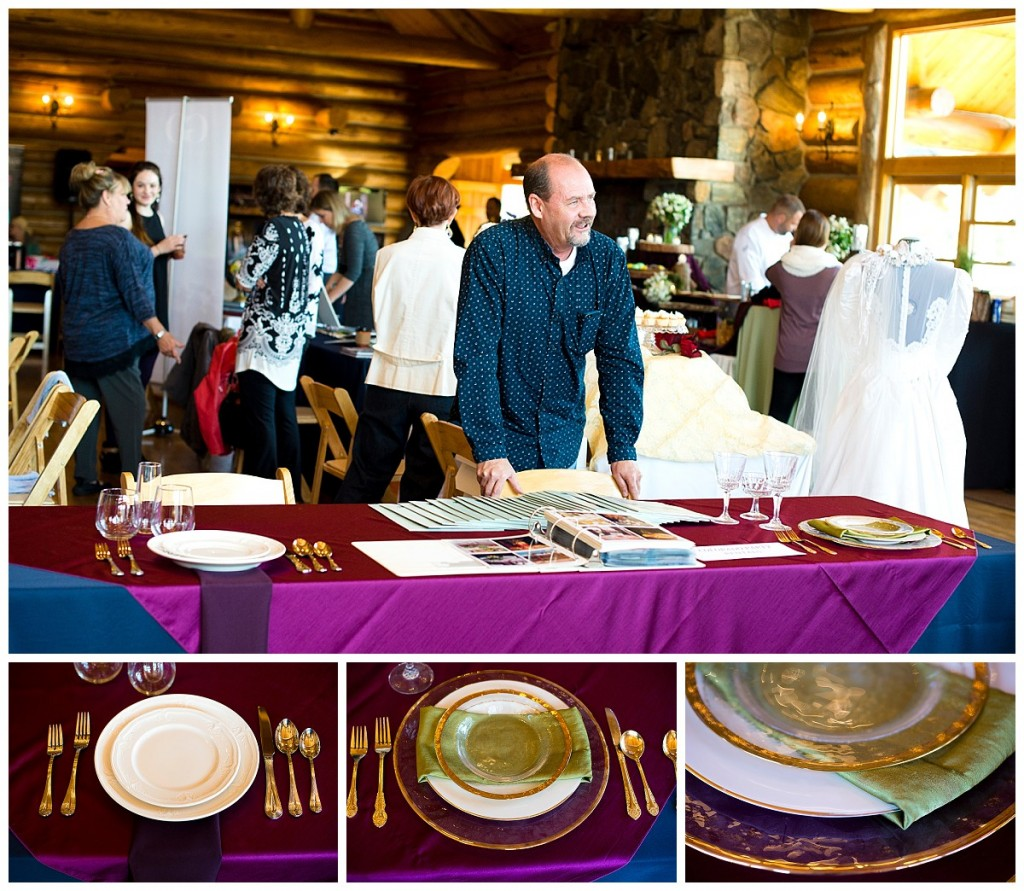 Colorado Party Rentals at the Evergreen lake House Bridal Show