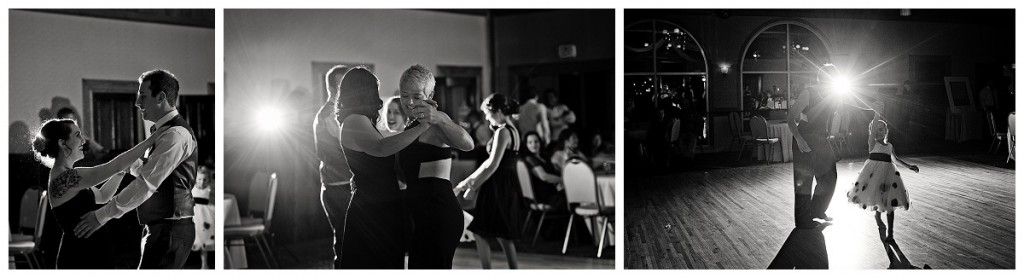 Guests dancing at the Brittany Hill in Thornton, Colorado