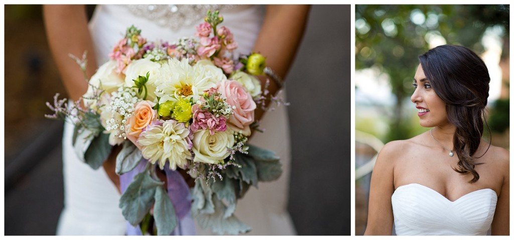 Brittany Hill Wedding Photography - bride and her bouquet