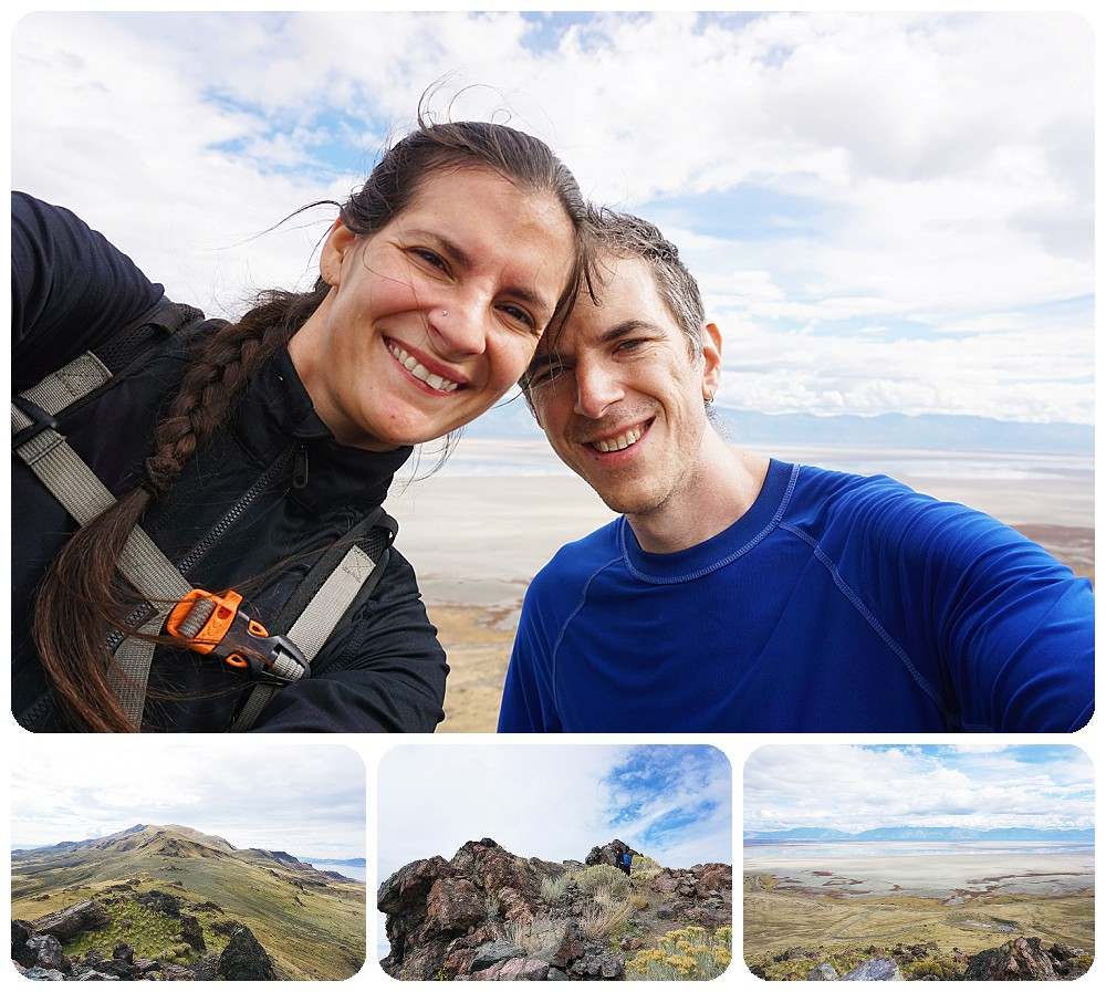 SLC Photographer - Hiking to the top of Dooley Knob at Antelope Island State Park