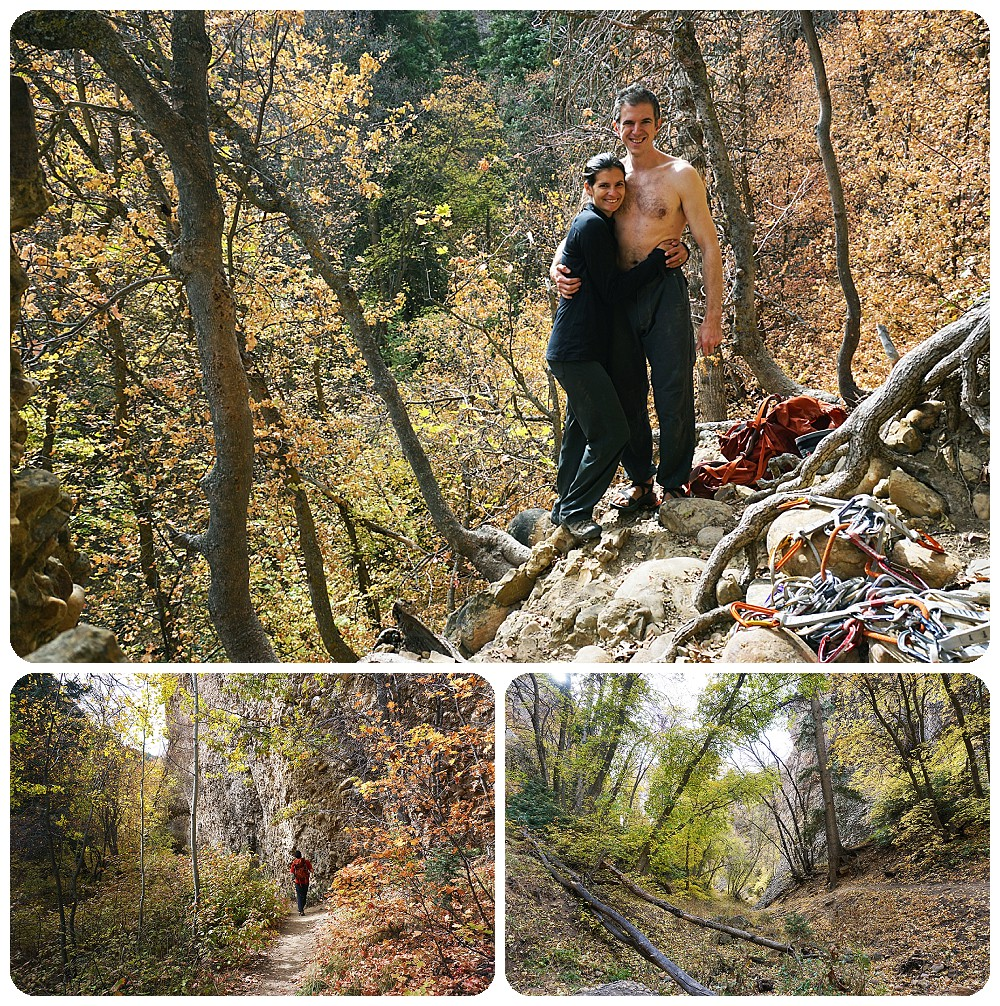 Rock Climbing in Maple Canyon - SLC Photographer