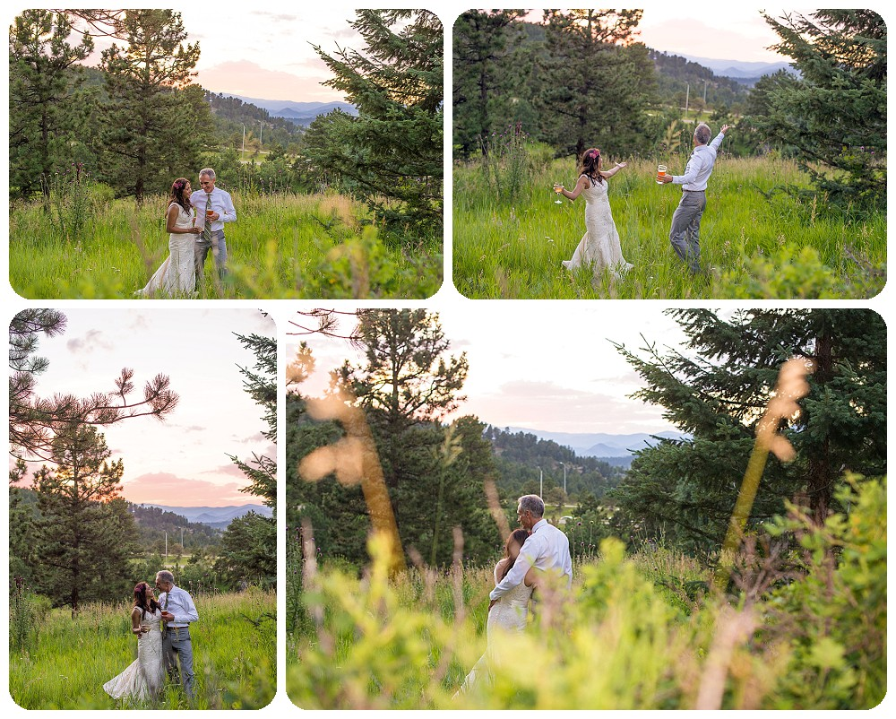 Sunset photos at Chief Hosa Lodge