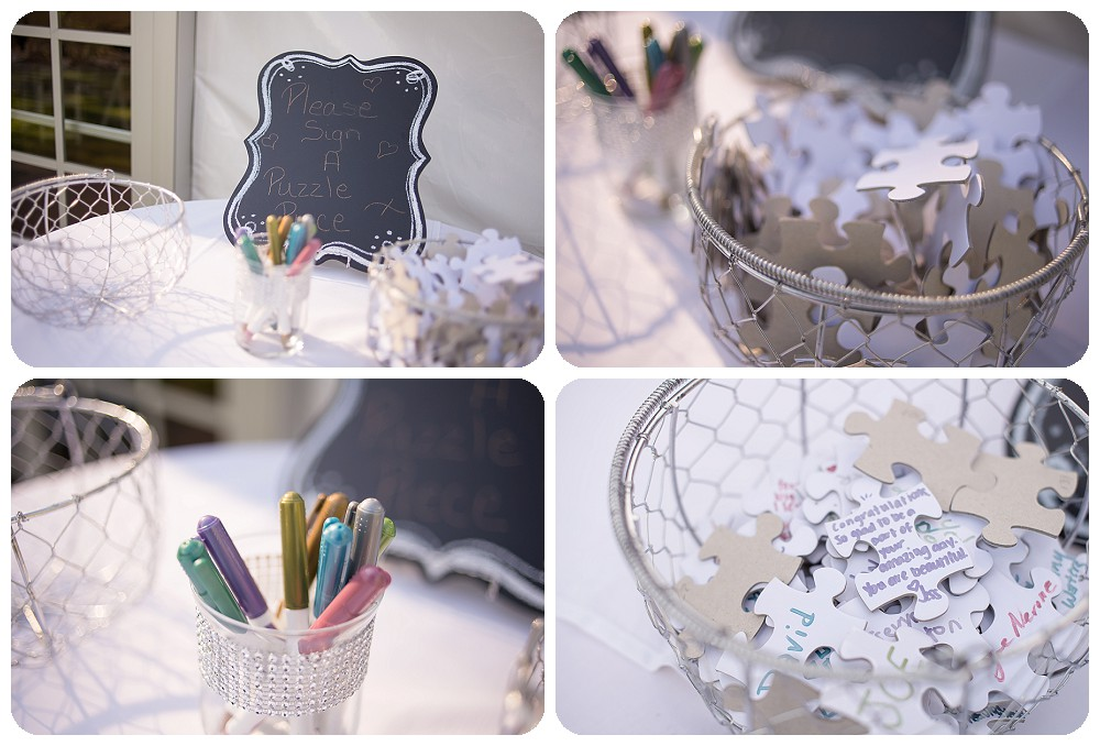 Puzzle Guest Book - Wedding ideas