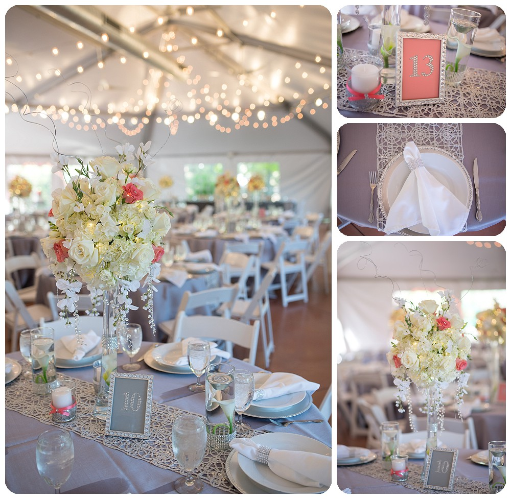 Hudson Gardens Wedding Photographer - tablescapes