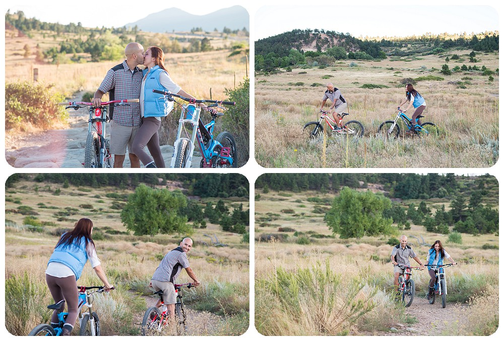 Mountain Biking Engagement pictures- Marshall Mesa Trail head