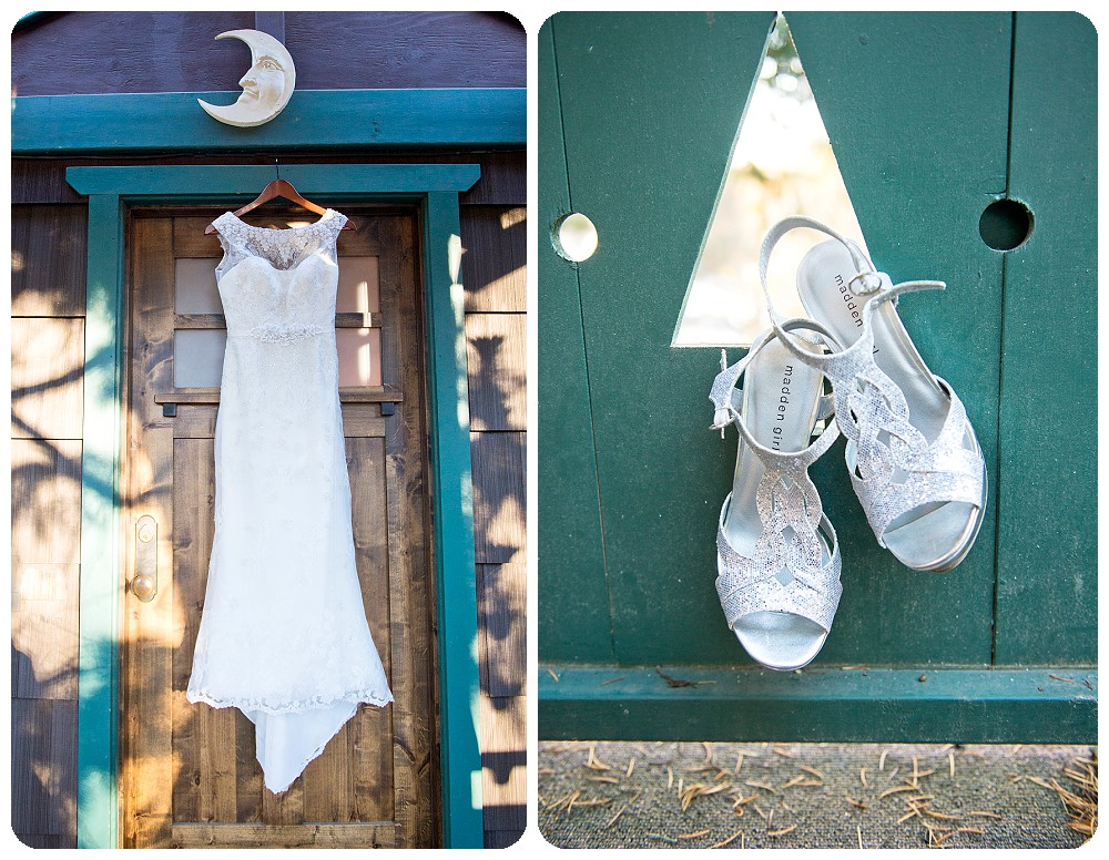 Wedding Details at the Highland Haven Inn