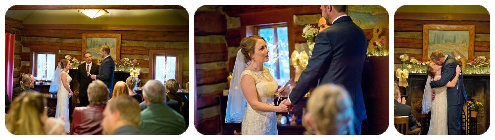 Highland Haven Wedding Photography - Inside Ceremony by Rayna McGinnis
