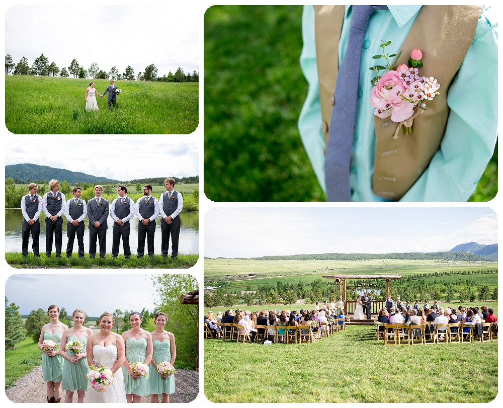 Colorado Wedding Pictures at Spruce Mountain Ranch