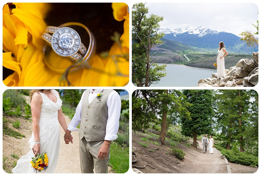 Colorado Wedding Pictures at Sapphire Point
