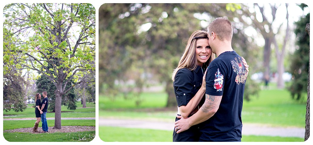 City park Engagement Session in Denver, Colorado