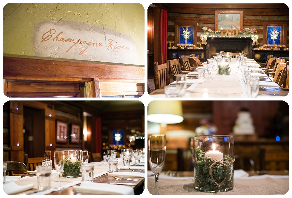 Evergreen Wedding Photography at the Highland Haven Inn Champagne Room