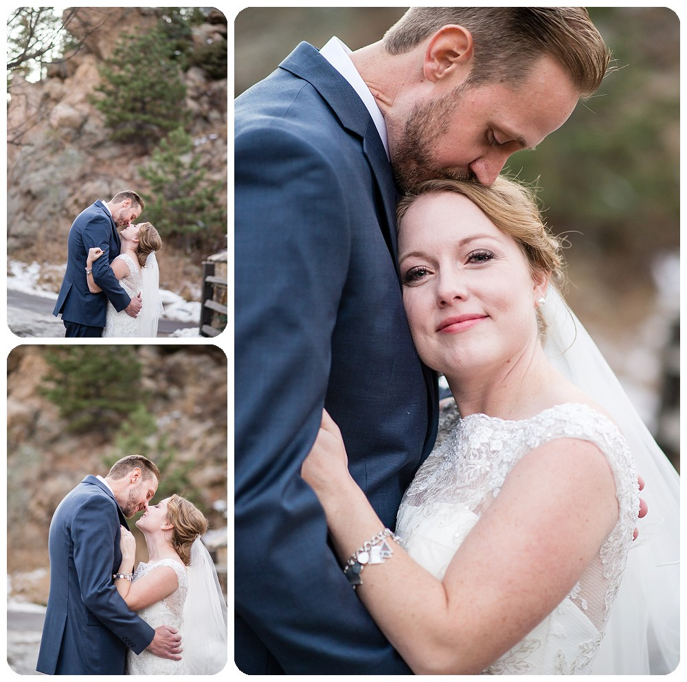 Couples photos by Evergreen Wedding Photographer, Rayna McGinnis, at Highland Haven Inn