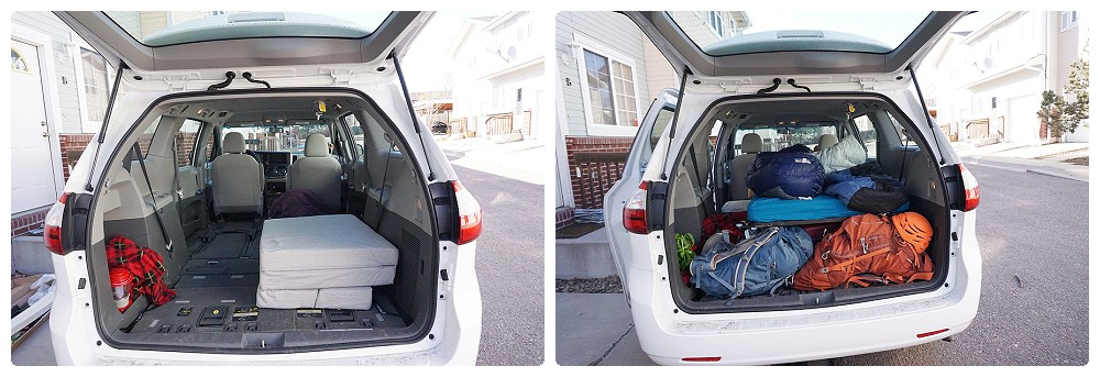 Road Tripping in a Toyota Sienna Minivan