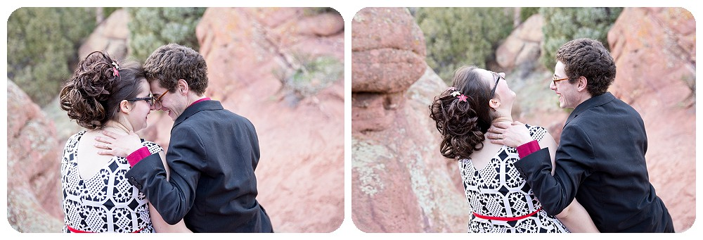 Engagement Session at Red Rocks