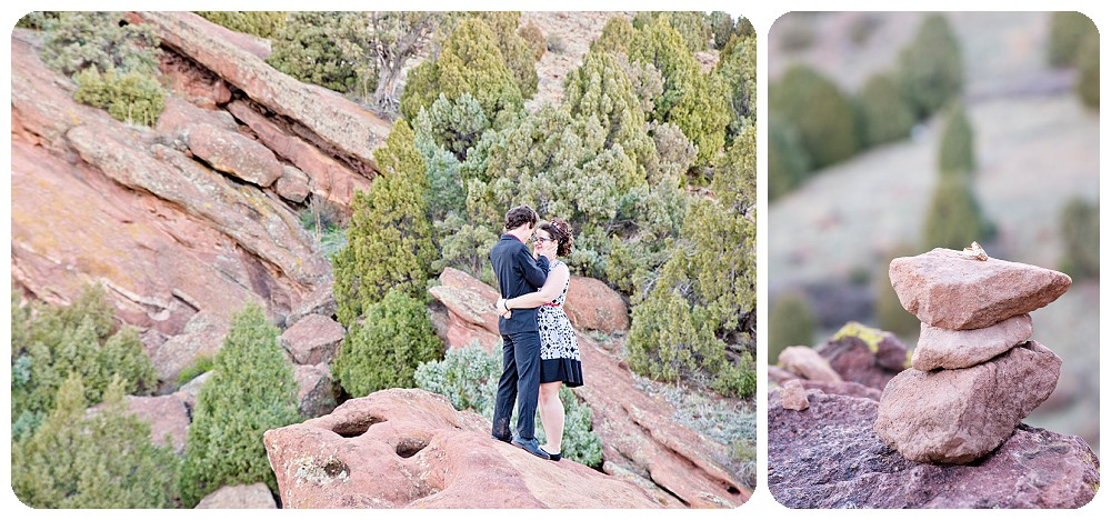 Engagement Session at Red Rocks Park in Golden Colorado