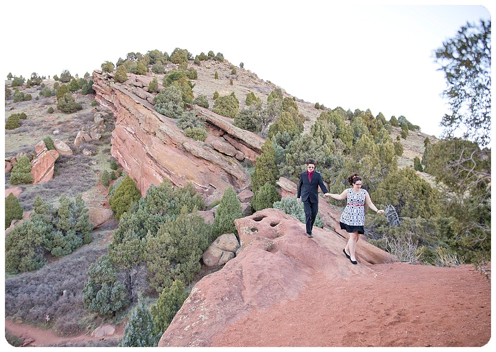 Engagement Session at Red Rocks Park
