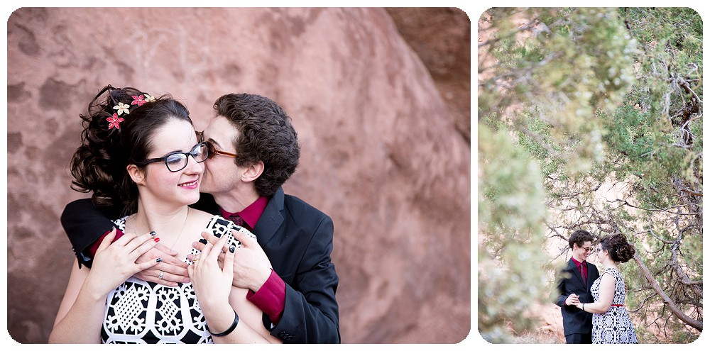 Engagement Session at Red Rocks with Bethany and Benjamin