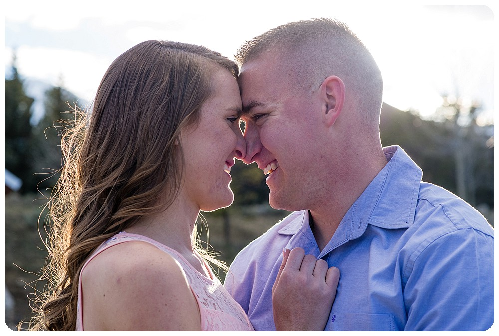 Breckenridge Engagement Session by Rayna McGinnis Photography