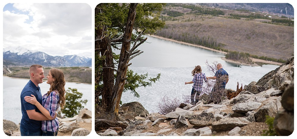 Sapphire Point Engagement Session by Denver Wedding Photographer Rayna McGinnis