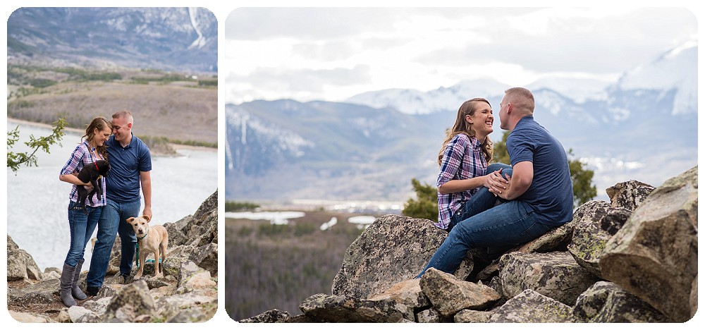 Sapphire Point Engagement Session in May