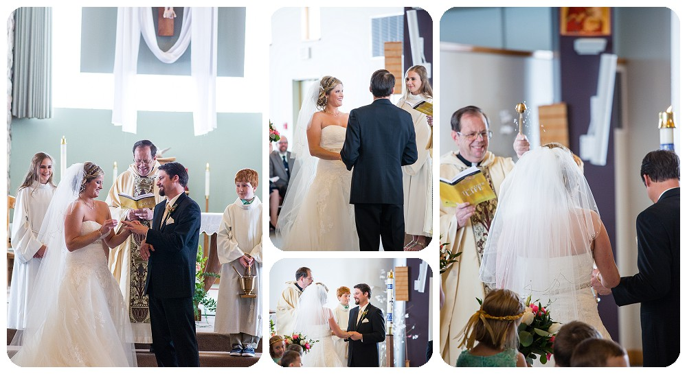 Our Lady of Pines Wedding Ceremony by Rayna McGinnis