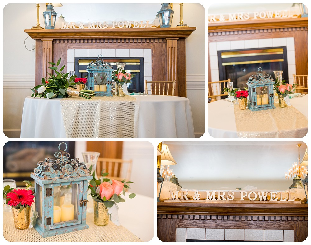 Reception details at Willow Ridge Manor Wedding in Morrison, CO