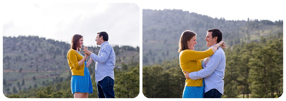 Elk Meadow Engagement Session by Rayna McGinnis Photography