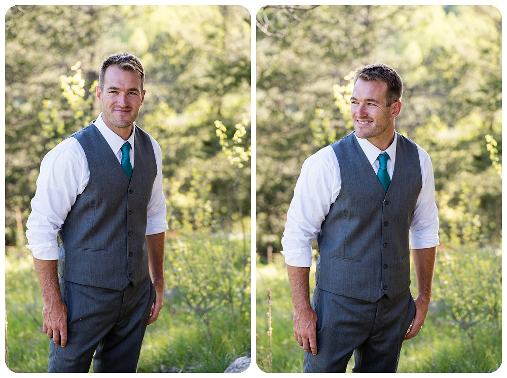Groom photos in conifer co