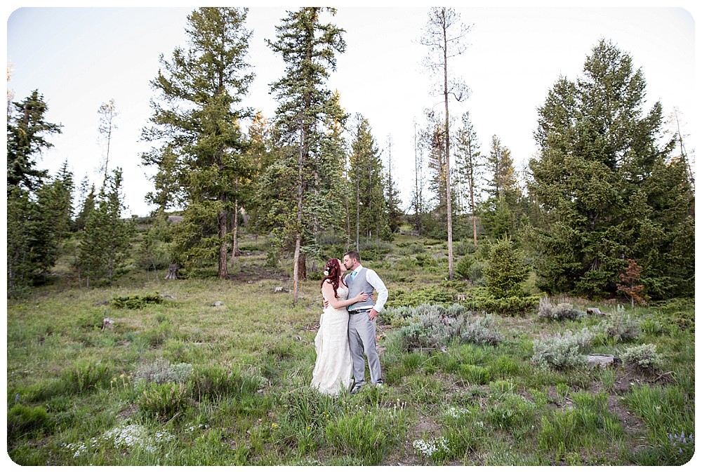 Dillon Colorado Wedding Photos