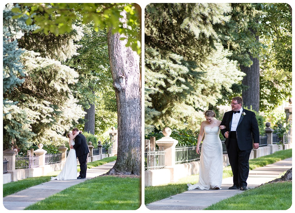 Couples photos at Callahan House Wedding