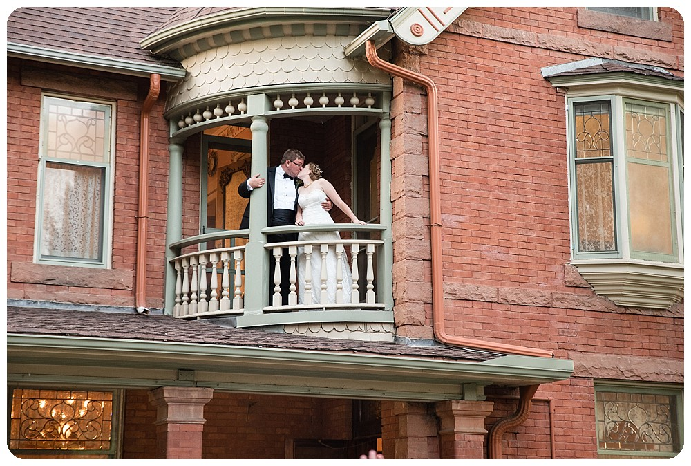 Couples photos at a Callahan House wedding in Longmont, Colorado