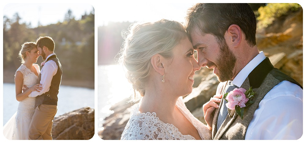 Couples Session at Nederland Wedding at Barker Reservoir