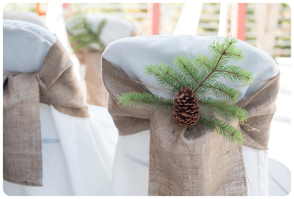 Pine Tree Wedding Decorations