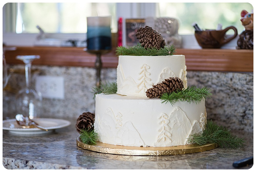 Wedding Cake by Peace Love and Chocolate in Boulder, Colorado