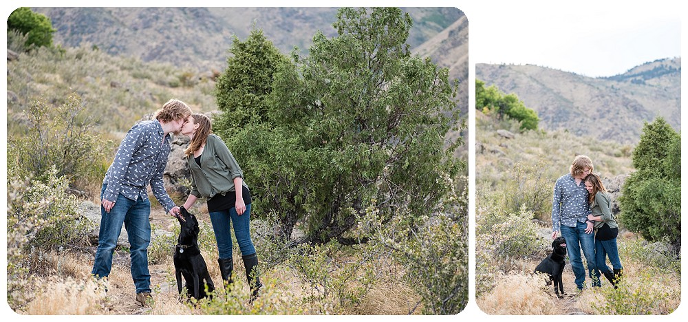 Denver Engagement Pictures at Lookout Mountain