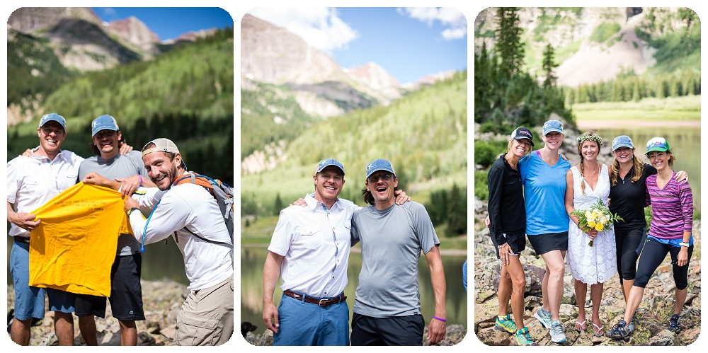 Guest photos at Maroon Bells Wedding Ceremony